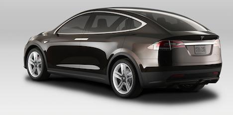 Tesla Model X - Back