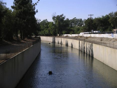 LA River - before