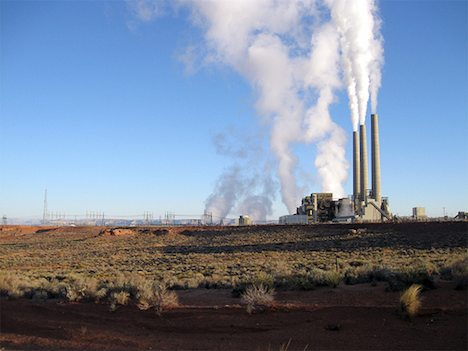 Coal-fired power plant – Arizona