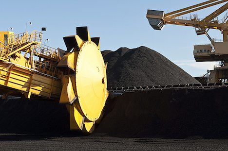 Australian coal port