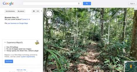 Google Street View - Amazon rainforest