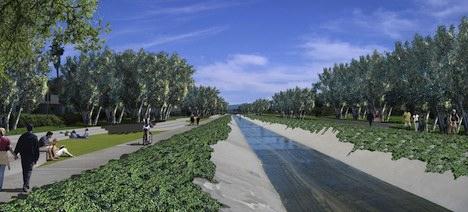 Los Angeles River – after revitalization
