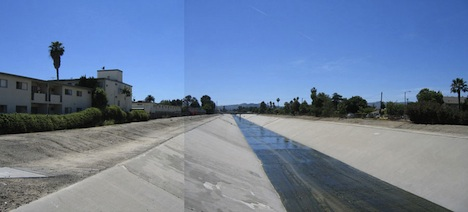 LA River - before revitalization