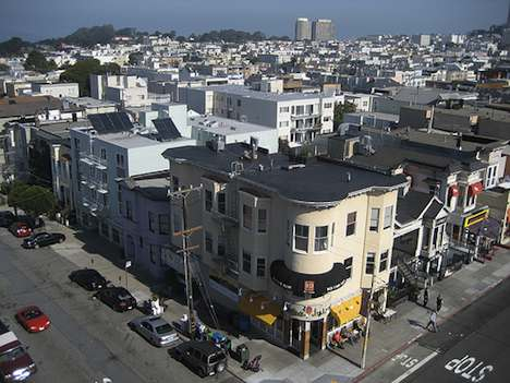 San Francisco rooftops