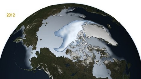 Arctic Sea Ice Minimum, 2012