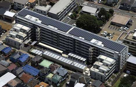Solar apartments - Japan