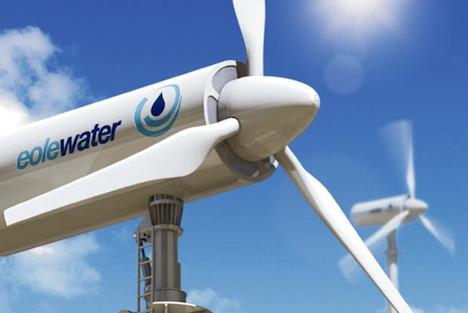 Ecole wind turbine