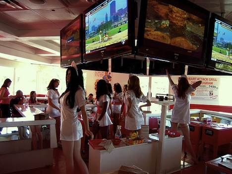 Heart Attack Grill waitresses
