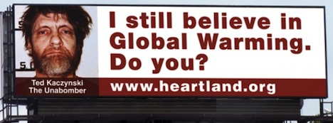 Heartland Institute billboard