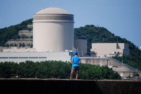 Nuclear power plant, Japan,