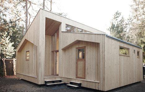 Printable house - side