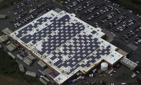 Solar PV installation – Walmart