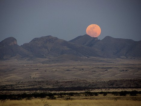 Supermoon - Arizona