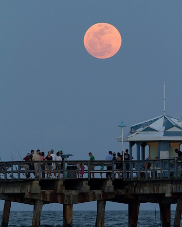 Supermoon - Fort Lauderdale Florida
