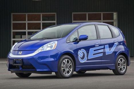 Honda Fit EV 2013