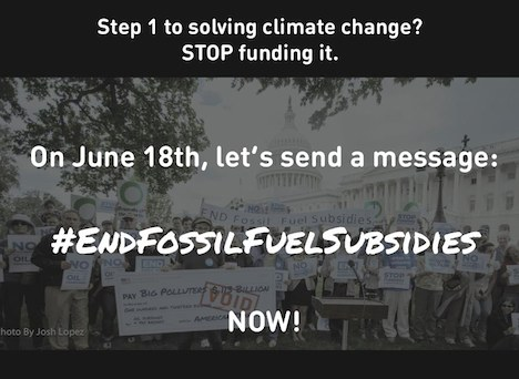 End Fossile Fuel Subsidies