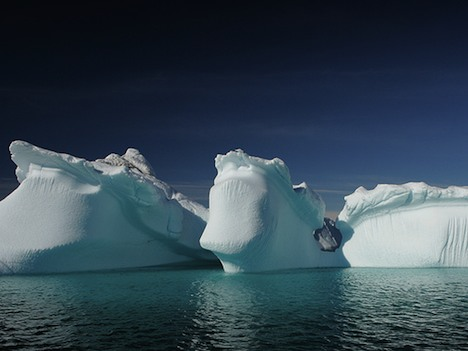 Arctic icebergs
