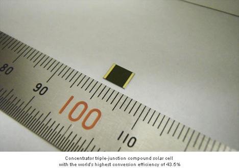 Sharp solar cell