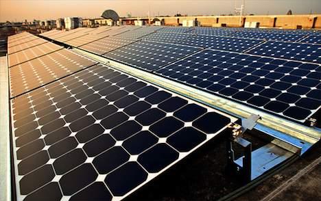 Solar panel installation in Vietnam