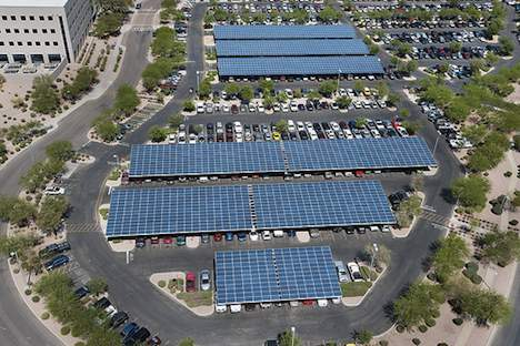 Solar panel installation – Intel Arizona