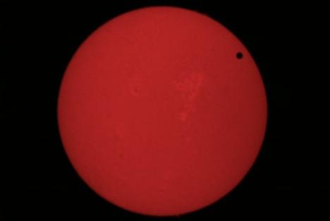 Transit of Venus  Live