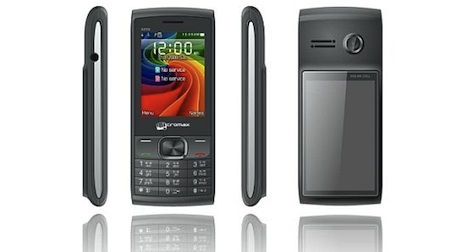 Micromax solar-powered phone