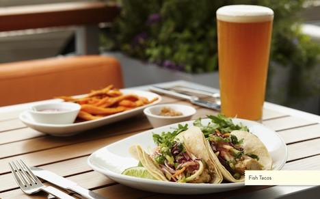 LYFE Kitchen - fish tacos