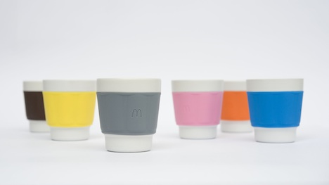 McDonald's reusable coffee cups
