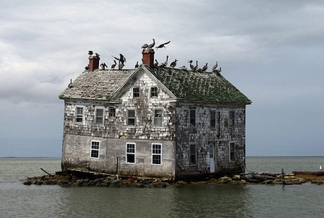 Last house on Holland Island