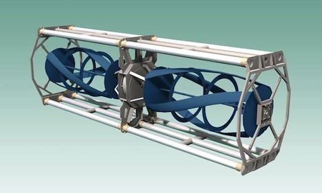 Tidal power turbine
