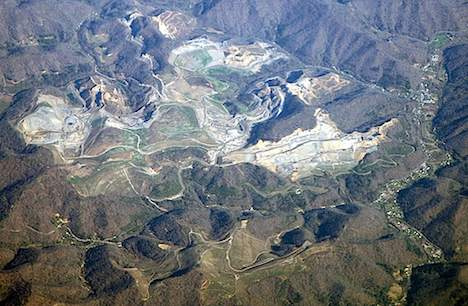 Mountaintop removal mining in Kentucky
