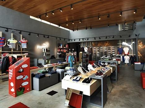 Puma sustainable store