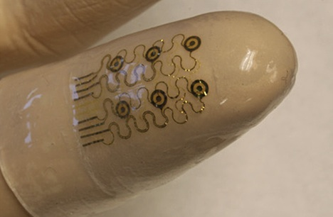 Smart fingertip for surgery