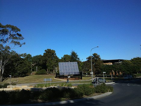 Photovoltaic array in Australia