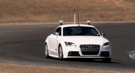 Standford's self-driving Audi TTS