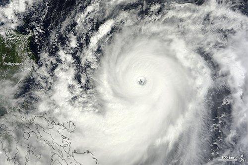Super Typhoon Jelawat - 25th Sept