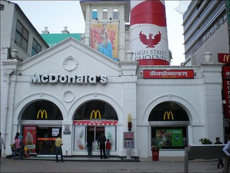 McDonald's in Mumbai, India