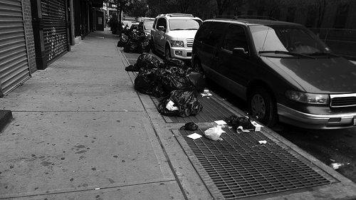 New York City garbage