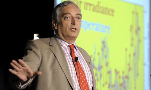 British climate sceptic Lord Christopher Monckton