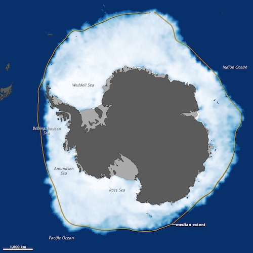Antarctic sea ice record 2012
