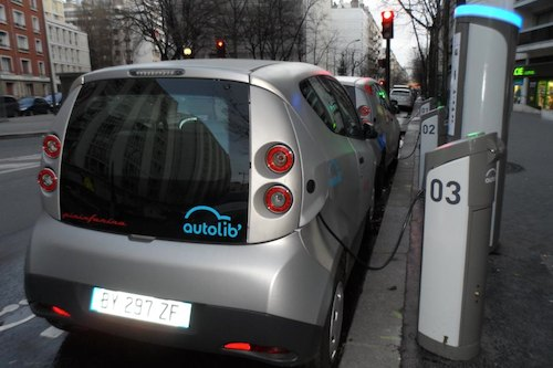 Autolib' electric car