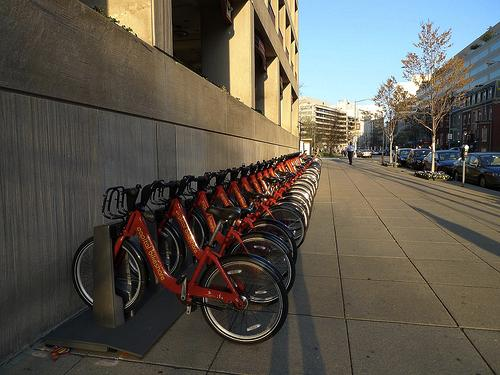DC bike sharing station