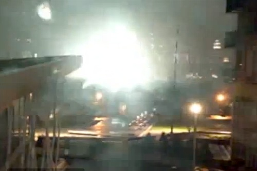 New York City electricity substation explosion