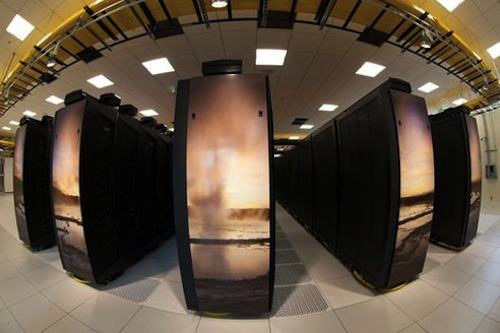 Yellowstone supercomputer