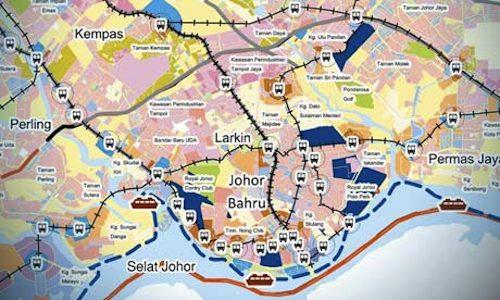 New eco-city Iskandar Malaysia