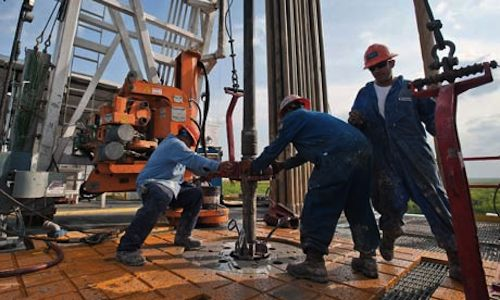 Oil Platform, Texas