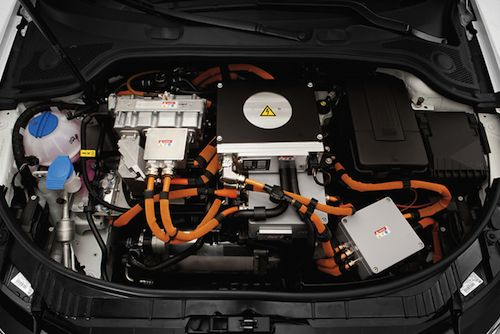 Audi A3 E-tron - engine