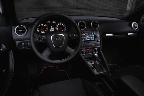 Audi A3 E-tron- interior