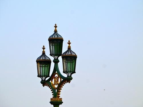 Street lamp in London