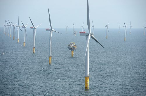 UK offshore windfarm